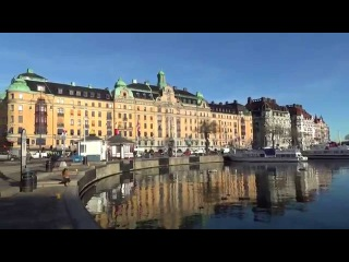 Круизы по Балтике. Центр Стокгольма