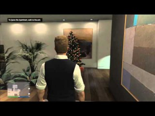 GTA 5 ONLINE - FESTIVE SURPRISE!!!! - ALL NEW CHRISTMAS APARTMENT INTERIORS (GTA V)