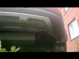 Штатный выхлоп на Kia Sportage 2.0AT(150 л.с)