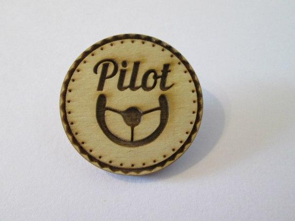значок пилота: