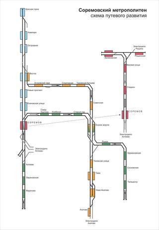 Составлена схема путевого