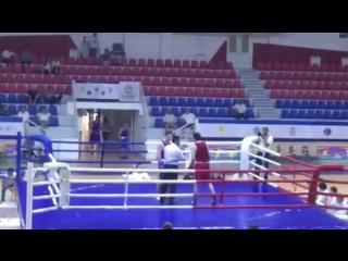 Ахмедов Али. Кубок федераций бокса Казахстана