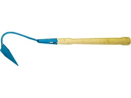 Бороздовичок малый, изогнутое крепление, деревянная рукоятка   СИБРТЕХ