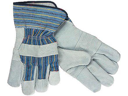 Перчатки спилковые комбинированные   СИБРТЕХ