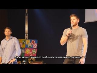 Jibcon 2015, панель Миши и Дженсена, часть 2 [rus subs]