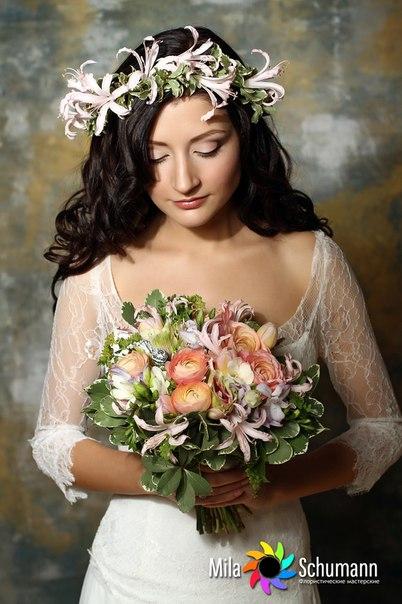 невеста по кругу фото