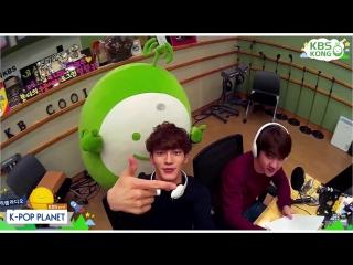 [VIDEO] 150503 D.O. & Chen @KBS Cool FM's K-POP Planet