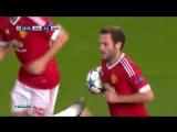 «Манчестер Юнайтед» - «Вольфсбург» (Гол Маты с пенальти)
