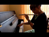Nastya Maslova - Amazing Flutebox,Vocal, Piano different hands at the same time