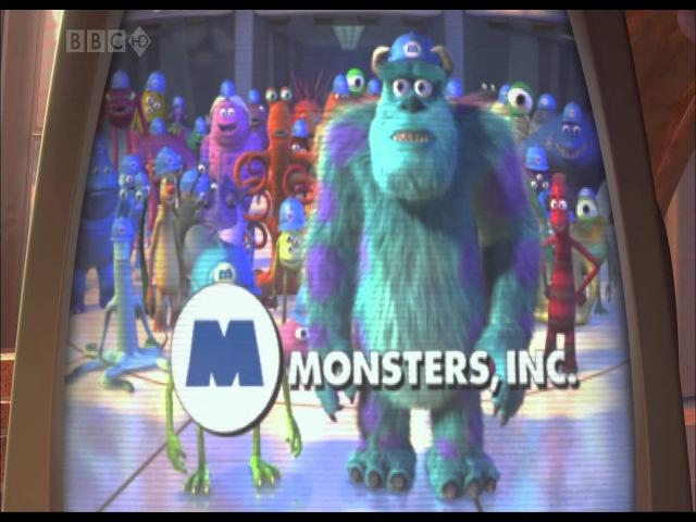 Корпорация монстров - меня показали по телевизору