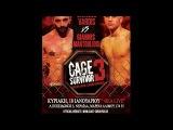 CS - Cage Survivor 3 Vardis Giorgos vs Mantoulidis Giannis