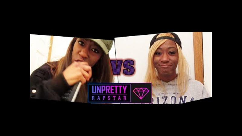 [Unpretty Rapstar] 타이미 vs 졸리브이 디스 랩 재연 | Tymee vs Jolly V Diss Rap Reenactment