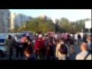 В Киеве на скандальной стройке в Осокорках произошла драка активистов и охранников.