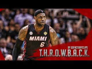 Throwback: LeBron James Full Game 4 Highlights vs Spurs 2013 Finals - 33 Pts, 11 Reb, BEAST MODE!