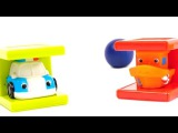 Мультик про машинки: Полицейская машинка и друзья: Считаем от 1 до 5: Развивающее видео про кубики