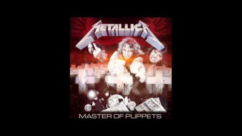 Metallica - Master of Puppets (Bass, Drums and Vocals)