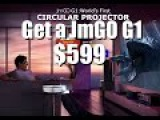 JmGo Projector G1 World's First  Free 3D Glasses  CIRCULAR PROJECTOR