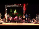Bgirl Lerka vs Bboy Vano Break Dance Juniors Preselection