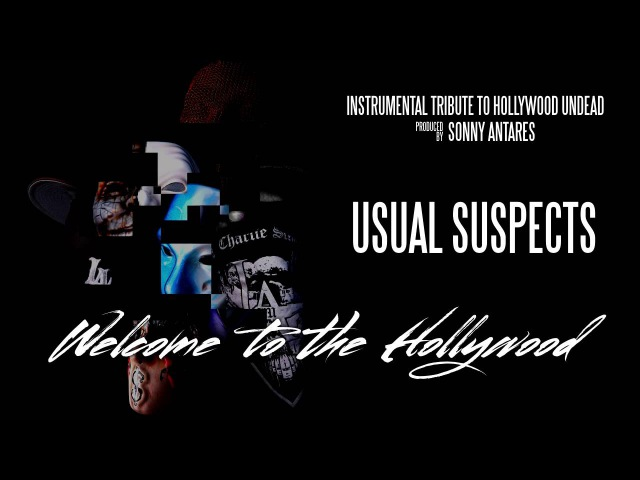 Hollywood Undead - Usual Suspects (Instrumental Cover by Sonny Antares)