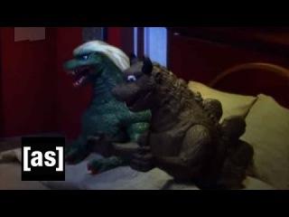 Godzilla Sex Toys | Robot Chicken | Adult Swim