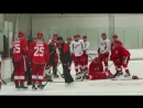 Helm, Verrier hurt in collision at Red Wings training camp H