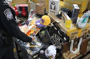 Борьба с контрафактом в Днепропетровске