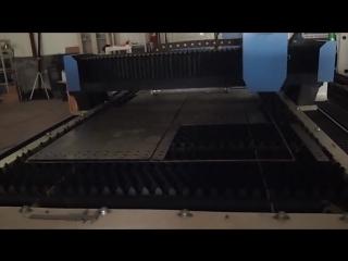 Волоконный лазер JQ-1530 500W черная сталь 3мм