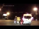 ДТП на дороге Лунтик, Микки Маус, Спанч Боб, Белка избили водителя