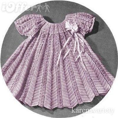 Платье на малышку с узором зигзаг (2 фото) - картинка
