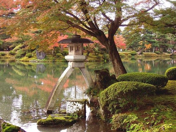 Сад Кайраку-эн, Япония