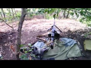 Жизнь бойцов ВСУ на передовой под небом Donbass,Ukraine