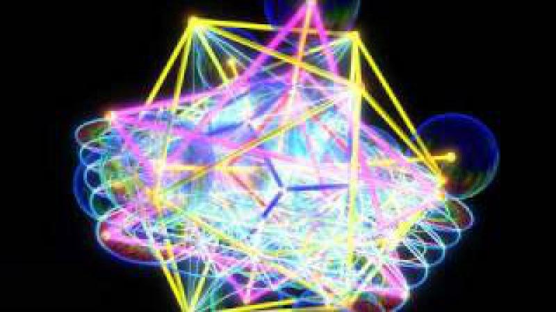 Metatron Cube 3D ( Sacred Geometry by ieoie )