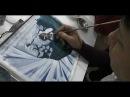 Иллюстрирование детских книг Работа с фактурами 14 01 2014