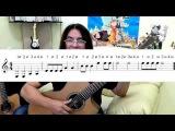 Уроки гитары фингерстайл. Урок № 6.
