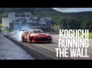 RAW Koguchi : Running The Wall. D1GP Ebisu Circuit Japan Drift 180sx Maiham-