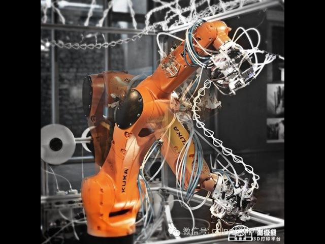 Robotic 3D spatial printing/sculpting