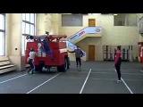 Тренировка Пожарных МЧС России Рекорд поставлен