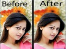 Photoshop Tutorials, How to photo Background of turbid effect,