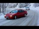FWD Snow Mountain Downhill Sliding Honda Civic Coupe