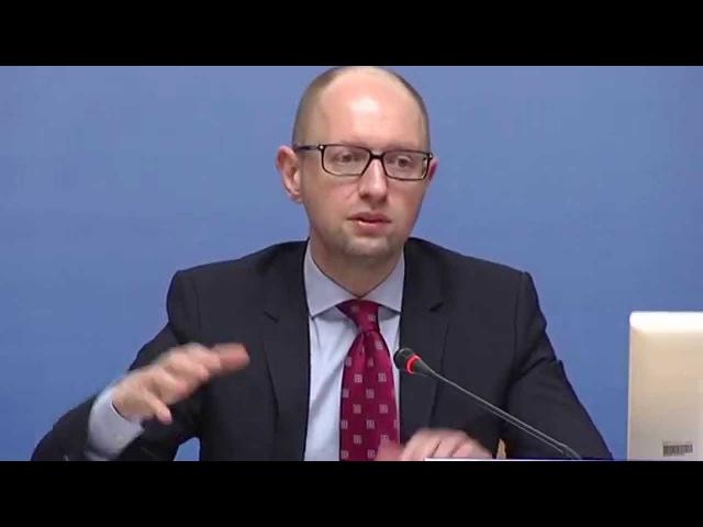 Яценюк пропонує створити Раду виробників для просування укр товарів на внутр. і зовн. ринках