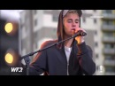 ❤ Justin Bieber As Long As You Love Me Live at Fox FM's Hit The Roof Melbourne Australia