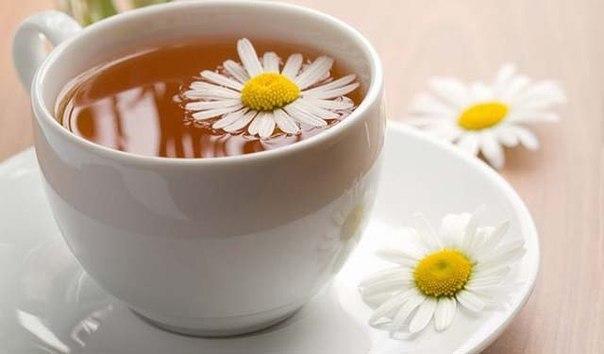Фруктово — ромашковый чай