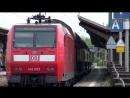 [4K] Zuge - Trains in Andernach - linke Rheinstrecke (02.05.2015)
