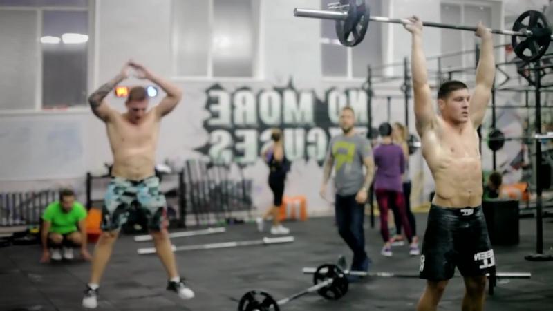 Fizcult осваивает CrossFit в Фитнес клубе Re'Forma