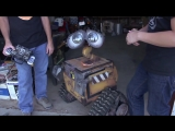 making a real LIFE-size WALL-E robo