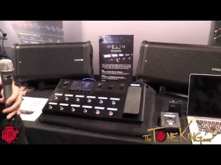Line 6 HELIX - demo and overview - Summer NAMM 2015