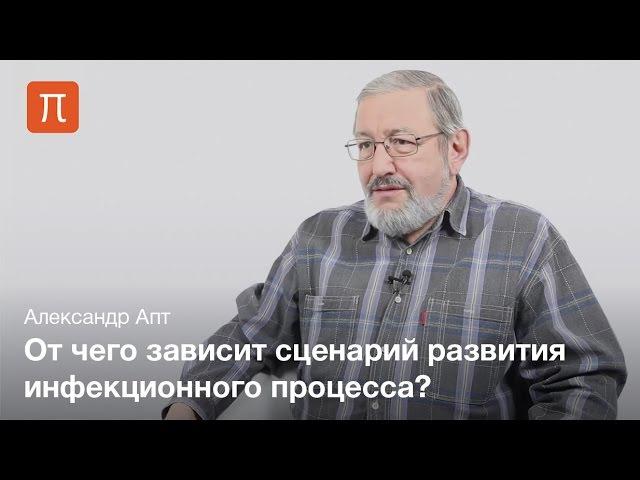 Инфекционный процесс — Александр Апт