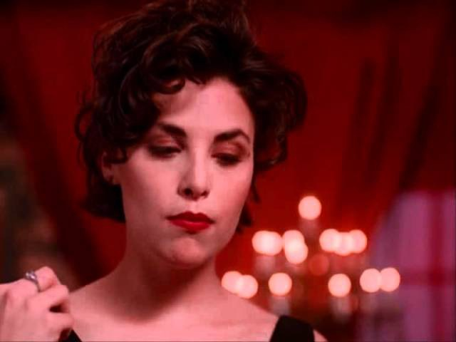 Twin Peaks - Audrey Horne eats a cherry