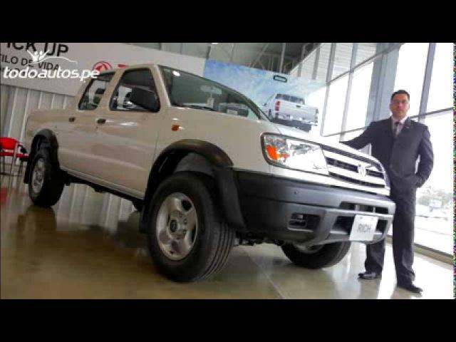 ZNA Rich pick up 4x4 en Perú I Video en Full HD I