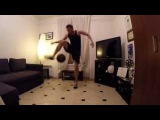Epic Freestyle Football Session at Home by Wass Freestyle Ball